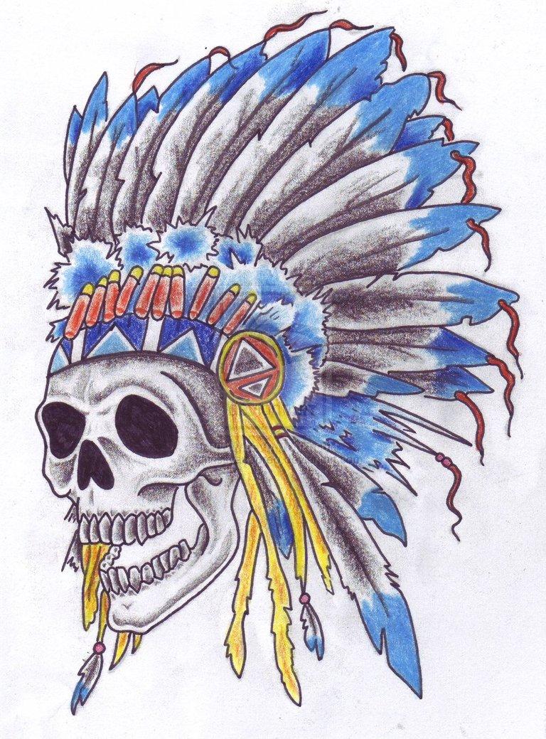 Headdress clipart indian head Indian Headdress Simple information Tattoo