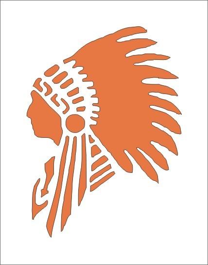 Headdress clipart indian head Art  image is Indian