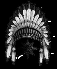 Headdress clipart indian head Clipart : org Clip Art