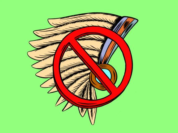 Headdress clipart indian mascot 128 The American Mascots Talking