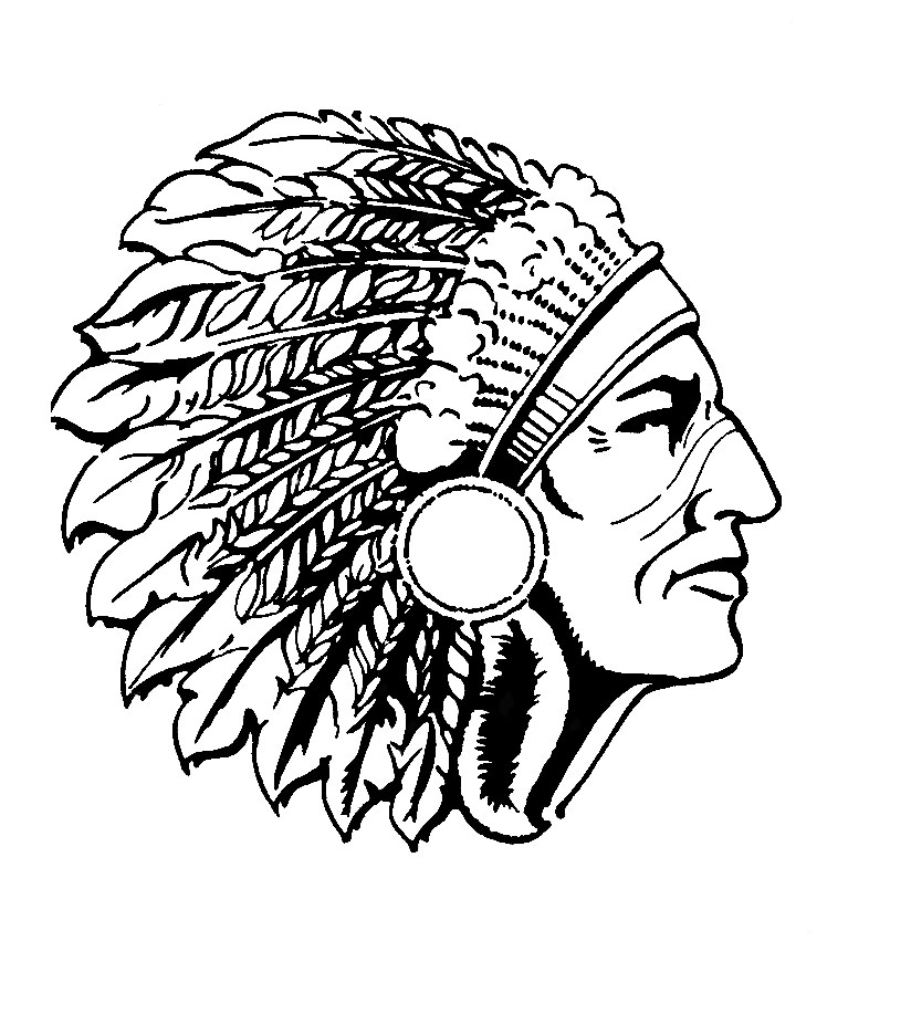 Indians clipart indian head Indian Gallery all Mascot More