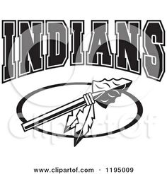 Headdress clipart indian mascot Art indian your  personalized