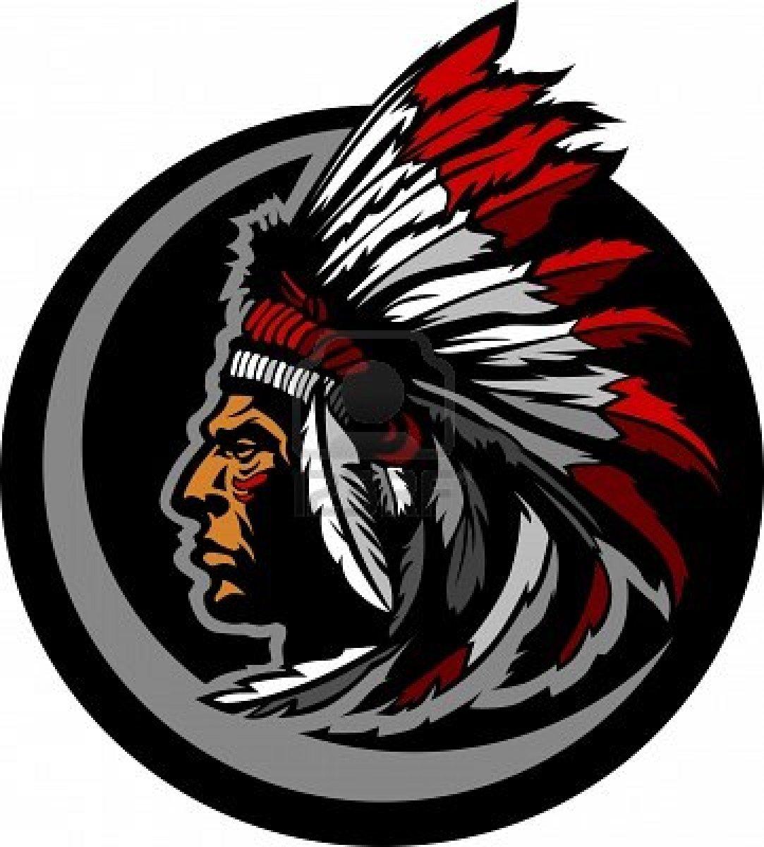 "Headdress clipart indian mascot ""Indian"" Molalla's Fact versus Native"