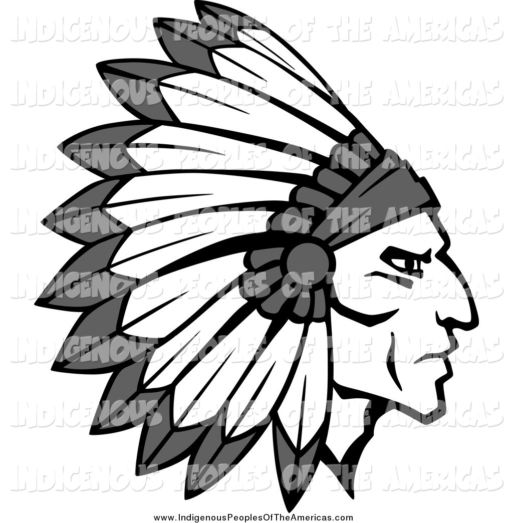 Headdress clipart indigenous Thanksgiving Headdress American Indian Native