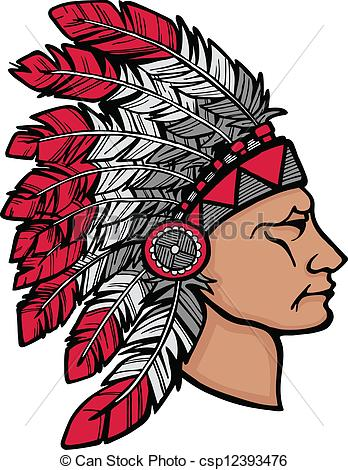 Headdress clipart indigenous And headdress and American 19