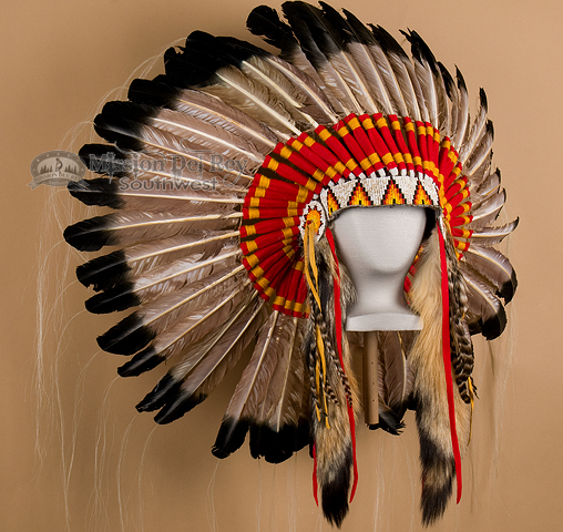 Headdress clipart navajo Peacock Bonnet (h7) Navajo Style