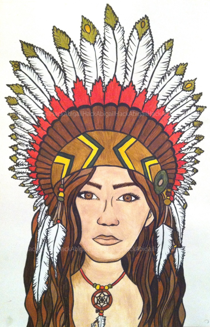 Headdress clipart north american Painted Size indian about images