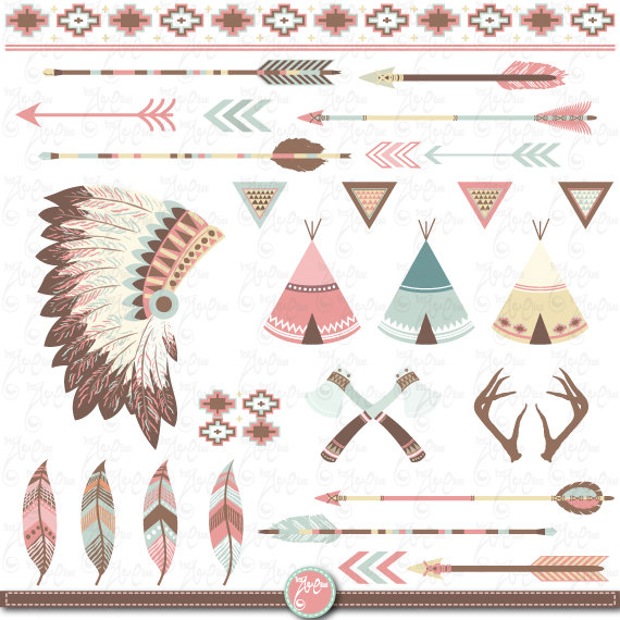 Indian clipart tribal Tribal