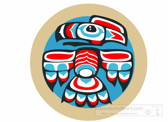 Indian clipart eagle Pole 69 Clipart Totem Kb