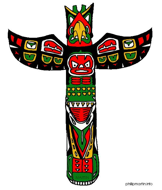 Totem Pole clipart alaska Images for & to Games