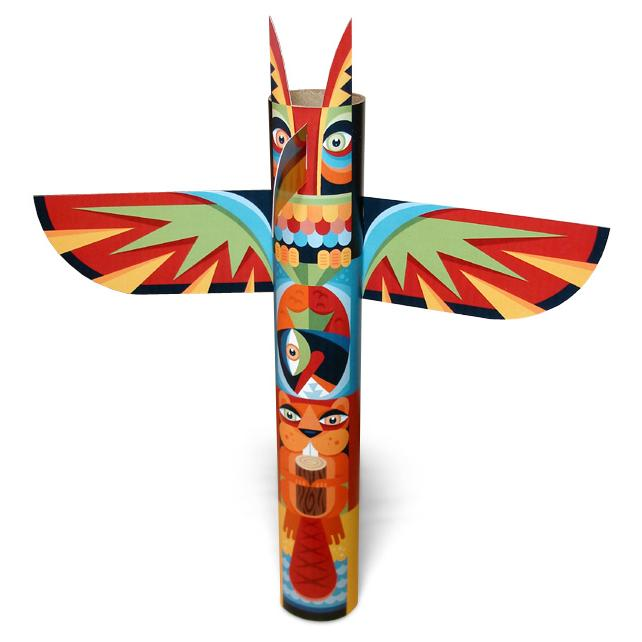 Native American clipart totem pole Pacific+Northwest+Totem+Pole+Papercraft (642×642) totem Pacific+Northwest+Totem+Pole+Papercraft jpg