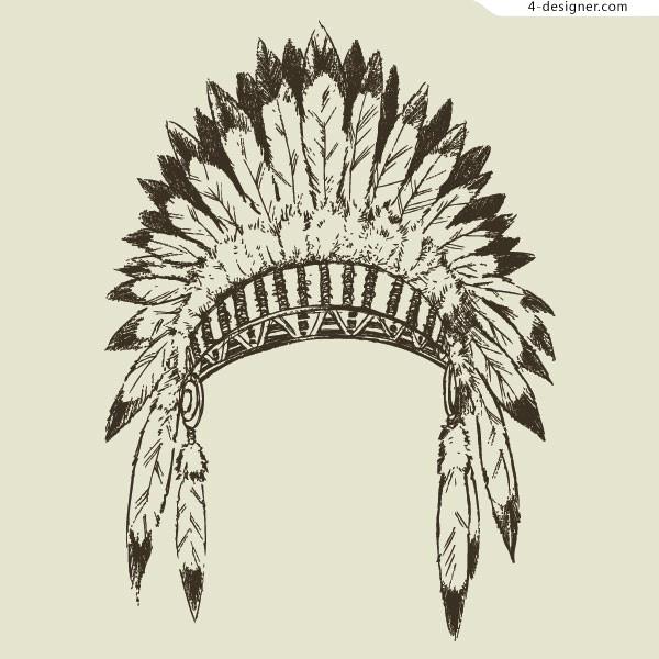 Headdress clipart tribal Leader Tribal Zone Cliparts Headdress