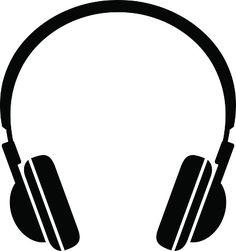 Headphone clipart Headphones Black Grafitti Pinterest Headphone