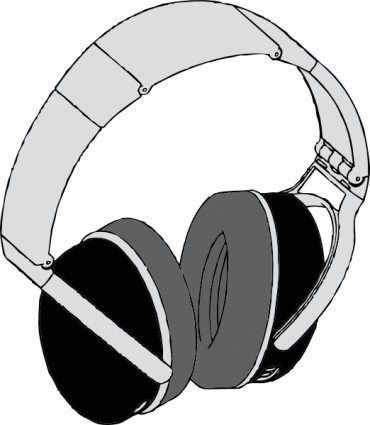 Headphones clipart animated Cartoon Clipart Clipart Bay Headphones