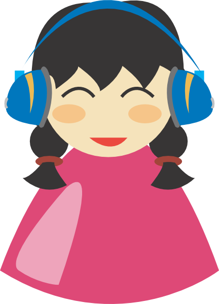 Headphones clipart animated Art clip Download Headphone online
