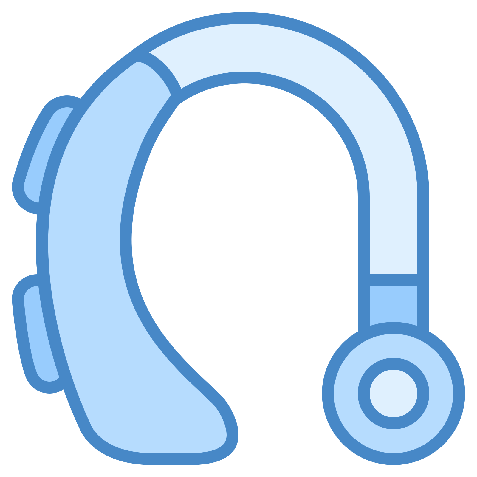 Headphone clipart audible Aid Icons SVG PNG Free