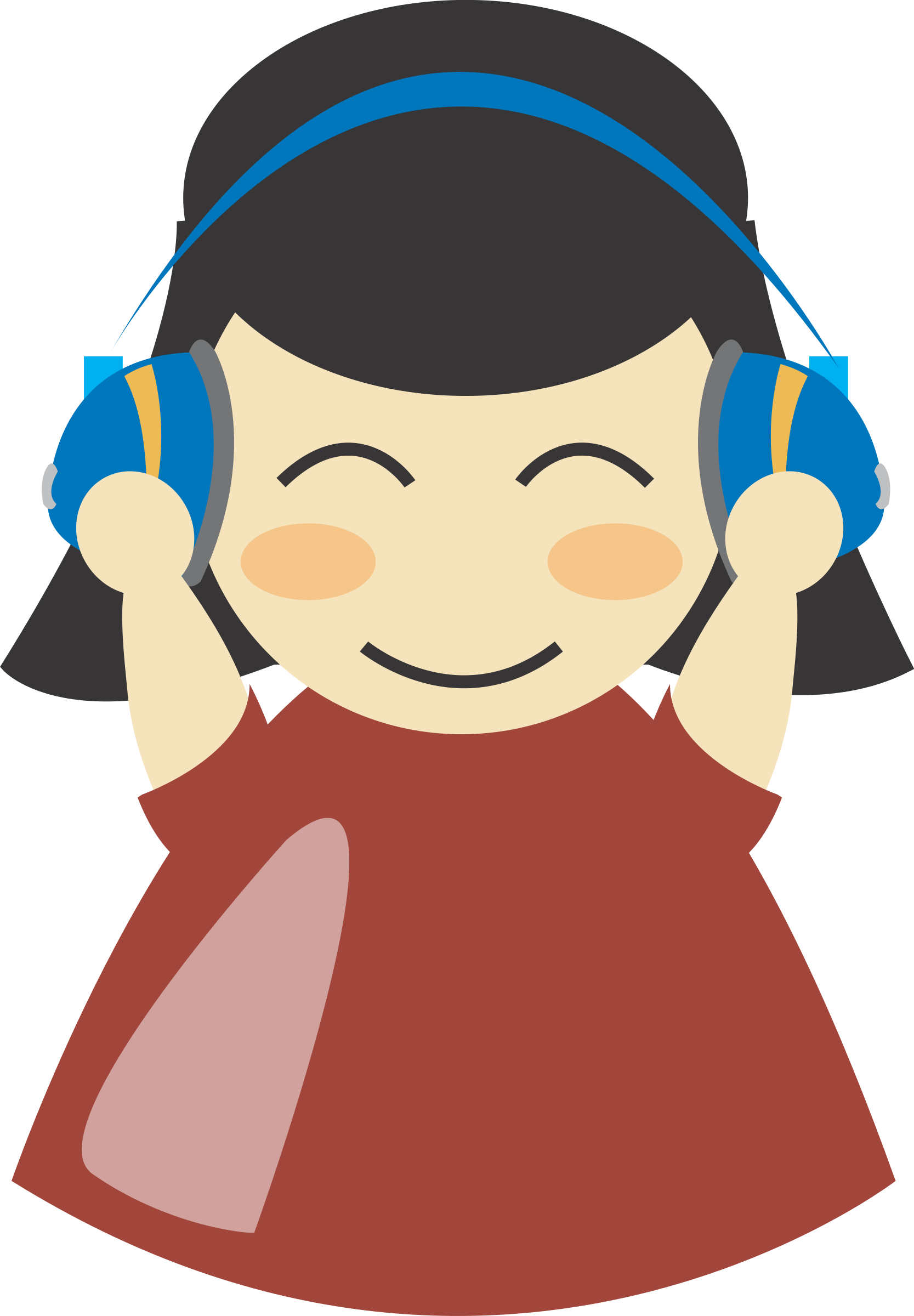 Noise clipart music With Girl IMAGE headphone4 Clipart