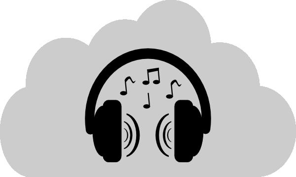 Headphone clipart cartoon music Clker as: Art Clip vector