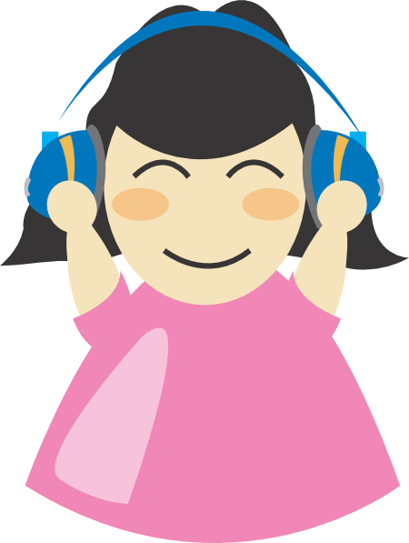 Headphone clipart cartoon music Images To Free Panda Clipart