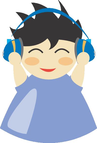 Headphone clipart cartoon music At as: Clip 2 com