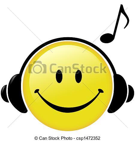 Headphone clipart cartoon music Music Musical of Illustration Musical
