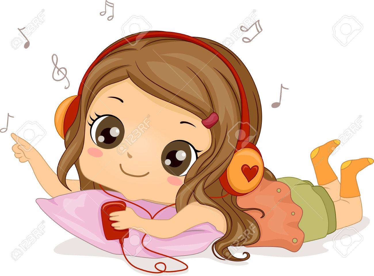 Headphone clipart cartoon music Clip Headphones Music to –