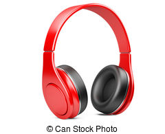 Headphone clipart colorful Headphone 198 on and white