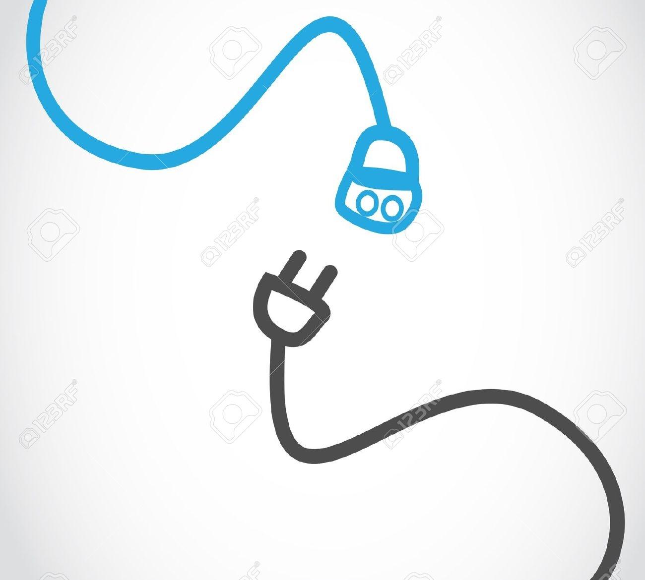 Headphone clipart cord clip art Roslonek Wire Computer Office Along