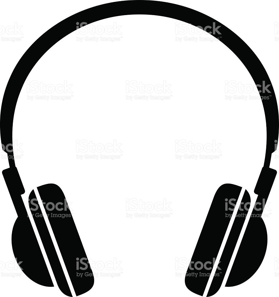 Headphone clipart cord clip art Clipart phones cliparts Vector Images