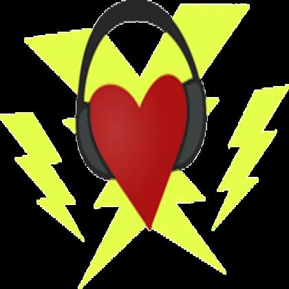 Headphone clipart cutie mark Headphones) ROBLOX Heart and Cutie