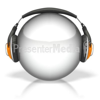 Headphone clipart dj equipment Sphere Clipart 2458 Presentation