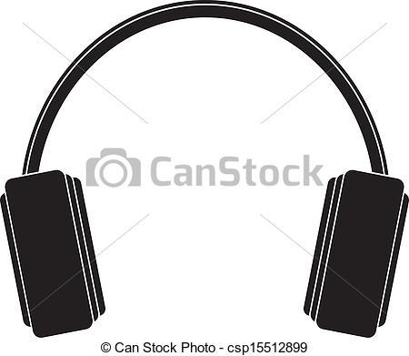 Headphone clipart dj logo Csp15512899 headphones of call Vectors