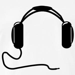 Headphone clipart dj logo T Headphones Premium Shop Men's