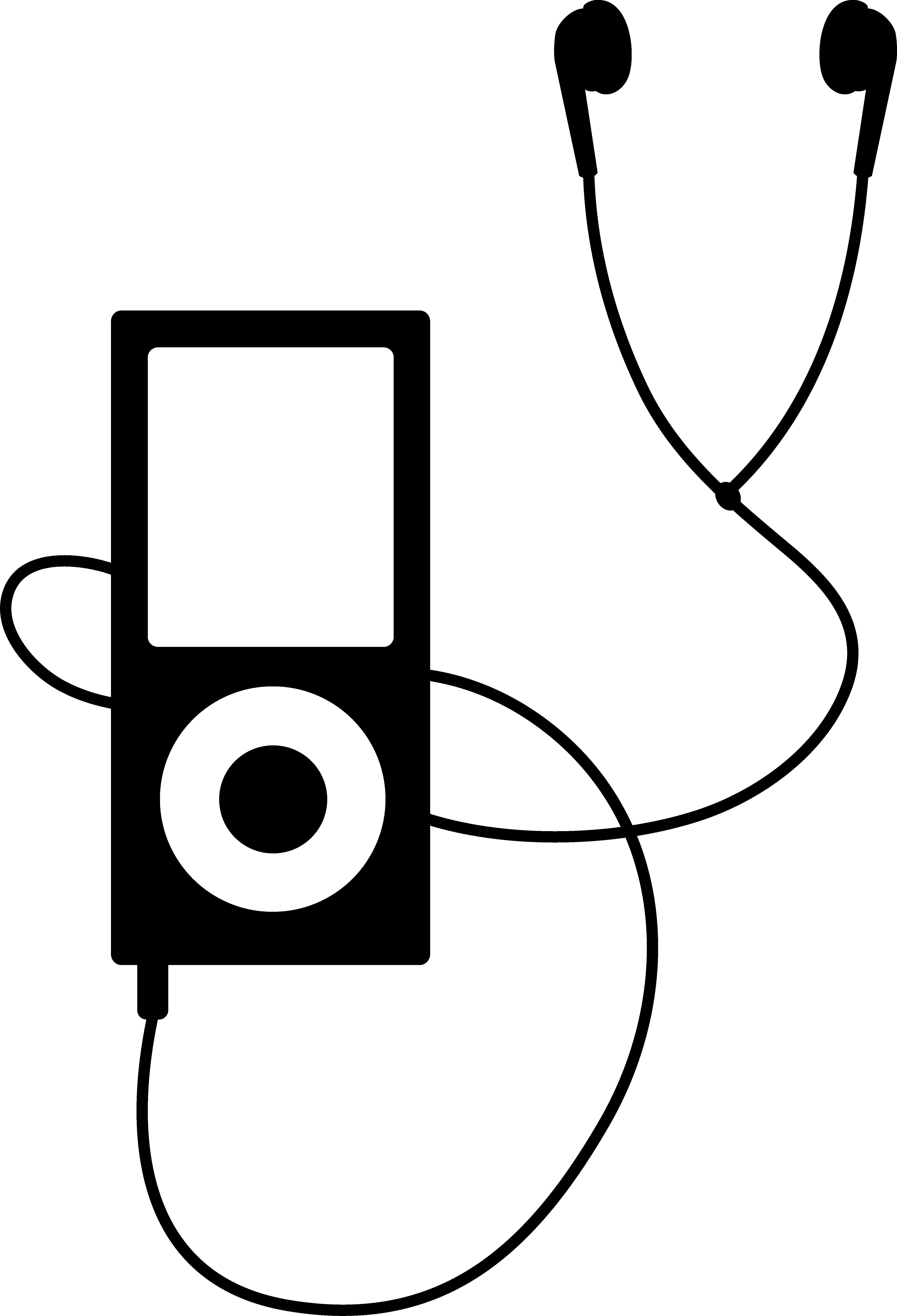 Headphone clipart drawn Ipod collection Art headphones clipart