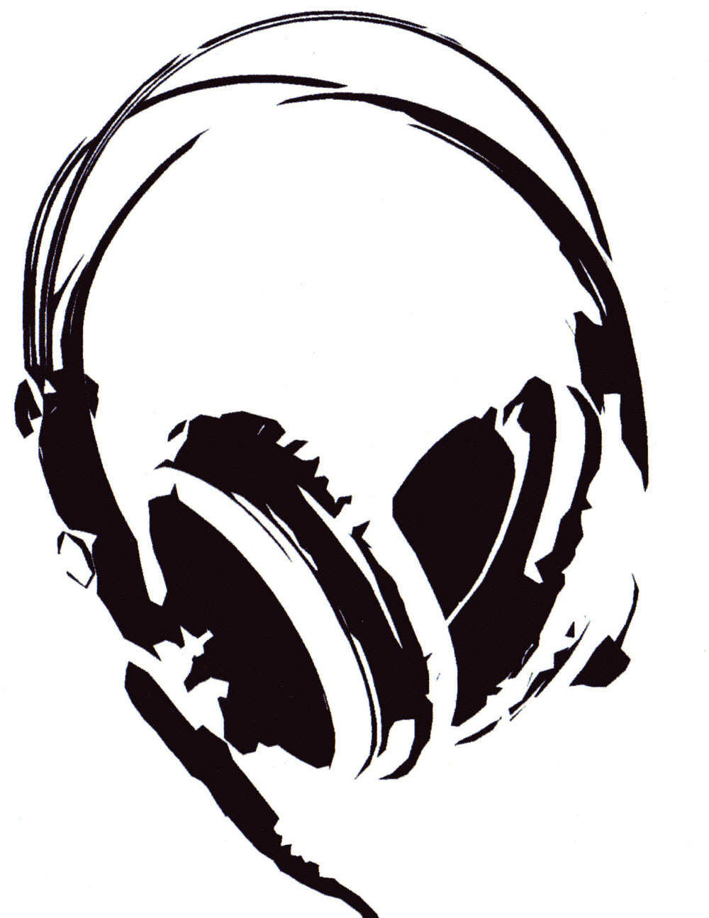Audio clipart dj headphone #8