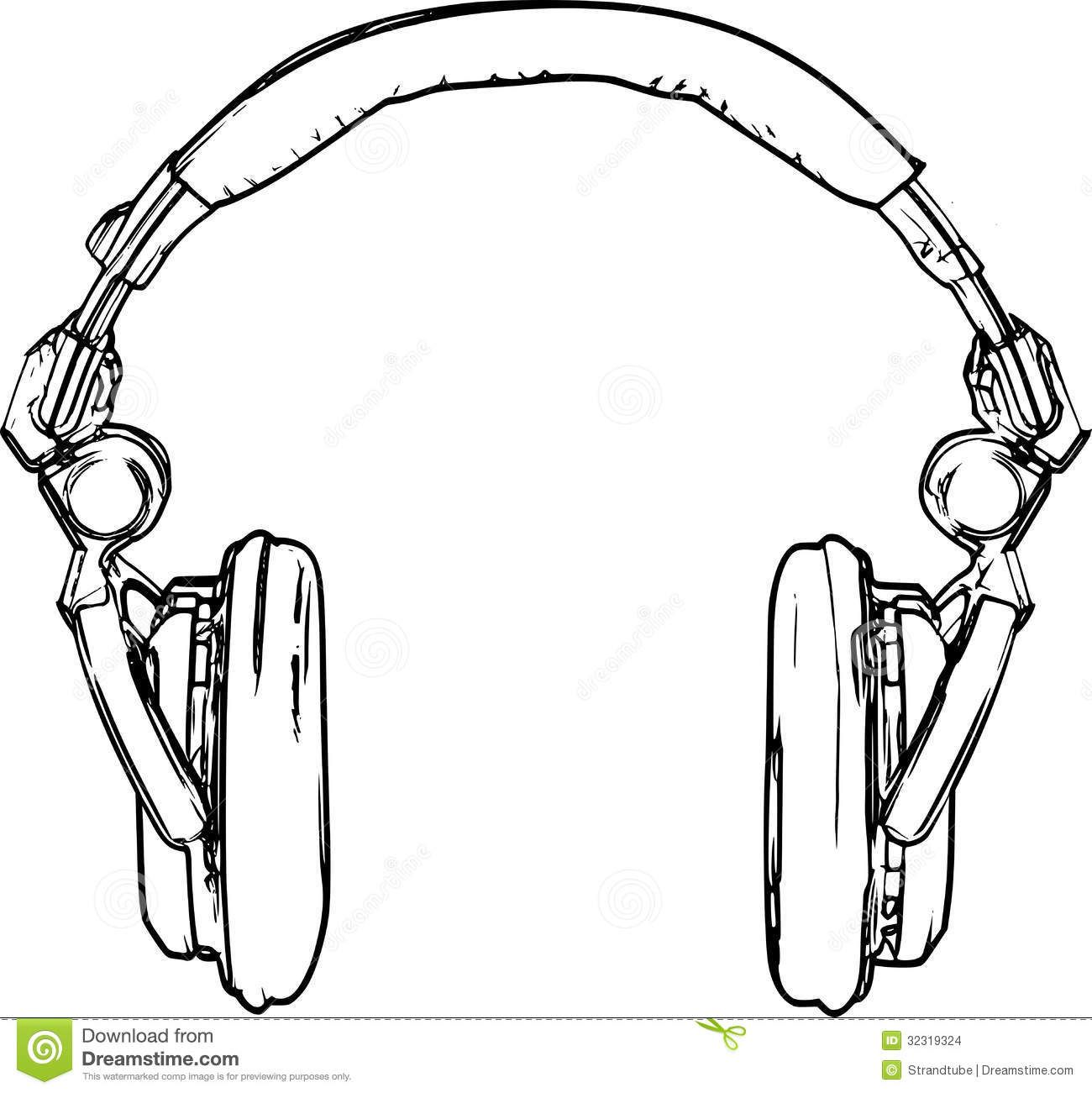 Headphone clipart drawn Tail Image Emilie Gerard One