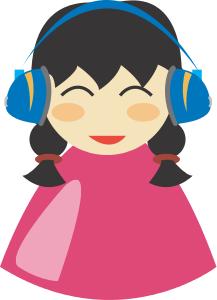 Headphone clipart earphone Clip Download With Earphones Art