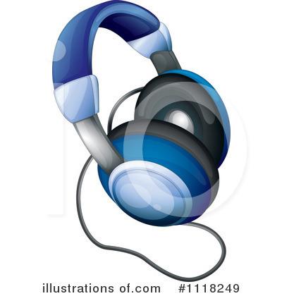 Headphone clipart earphone Clipart Illustration colematt #1118249 Clipart