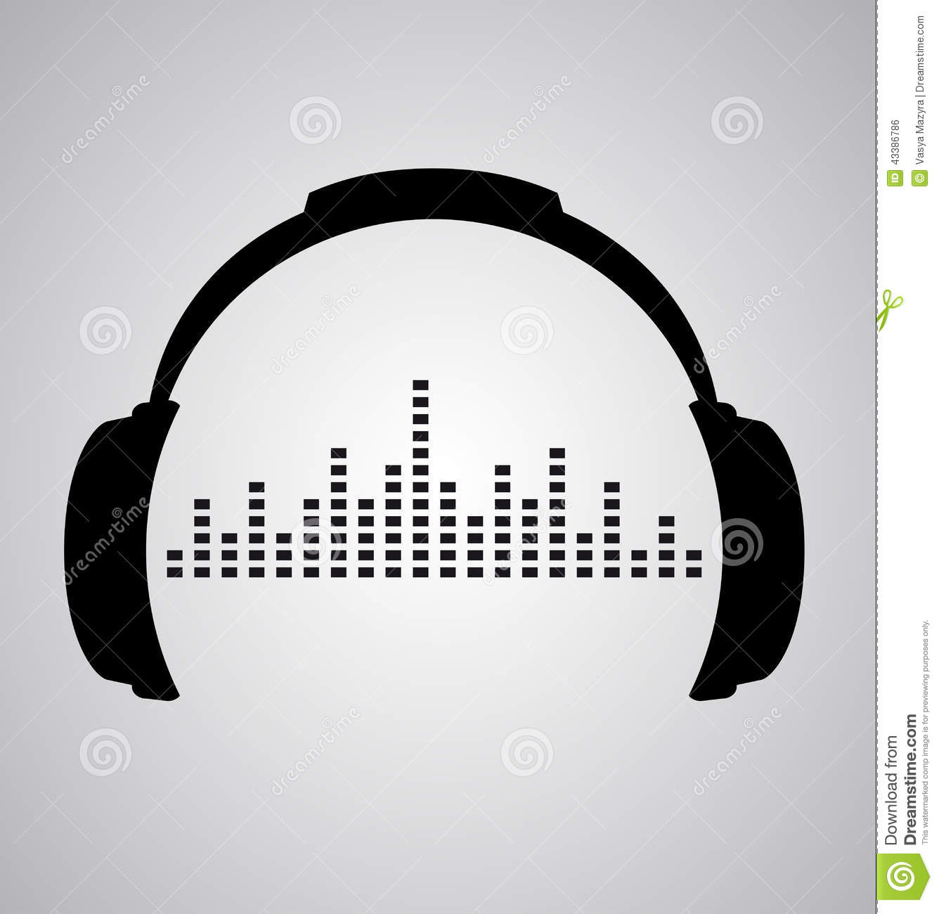 DJ clipart beats headphone Sound Beats Icon clipart Wave