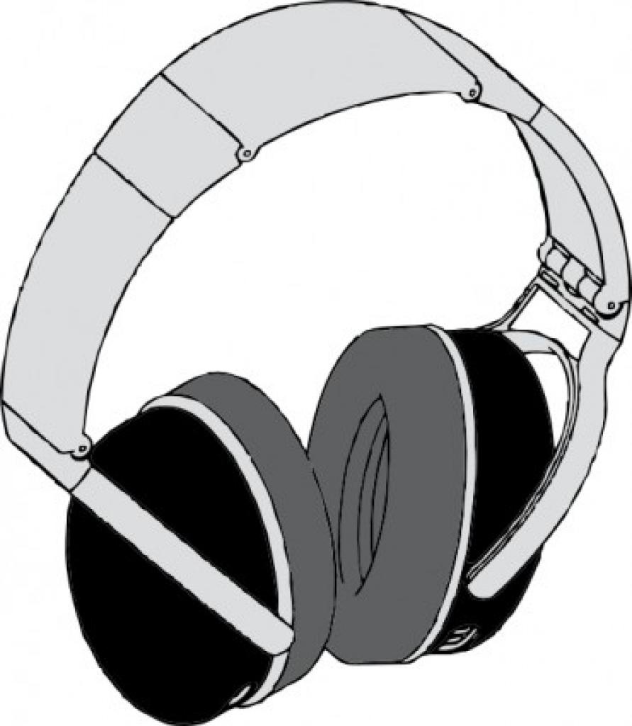Headphone clipart earphone Headphones Clip Earphone com art