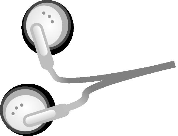Headphone clipart earphone Art Download Clip and –
