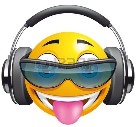 Headphone clipart emoticon D'images images Pinterest 183 Banque