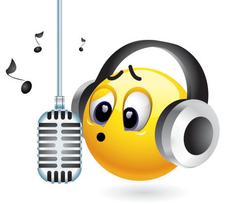 Headphone clipart emoticon 25+ on Symbols Best Singing