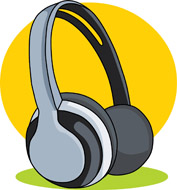 Headphone clipart for kid From: Kb Search Size: headphone