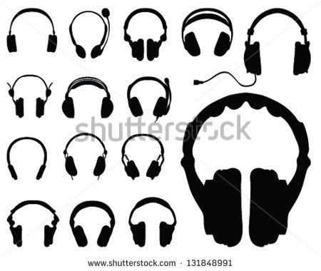 Headphone clipart i love Find 36 images more Headphone