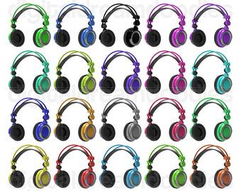 Headphone clipart listening cent Head Head Clipart Headphone Phone