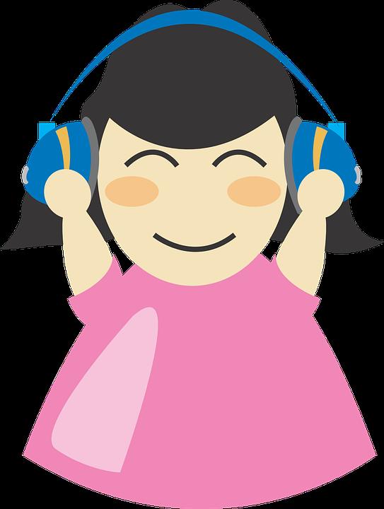 Headphone clipart listening comprehension Book  The listening Audiobooks