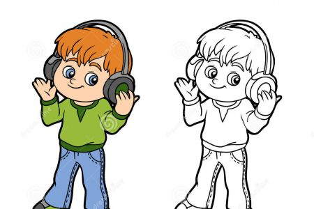 Headphone clipart listening skill To UK boy headphones Headphones