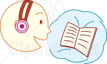 Headphone clipart listening skill Headphones (72+) reading wearing Clipart