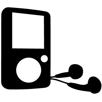 Headphone clipart mp3 player Clip Clipart Download – Clip